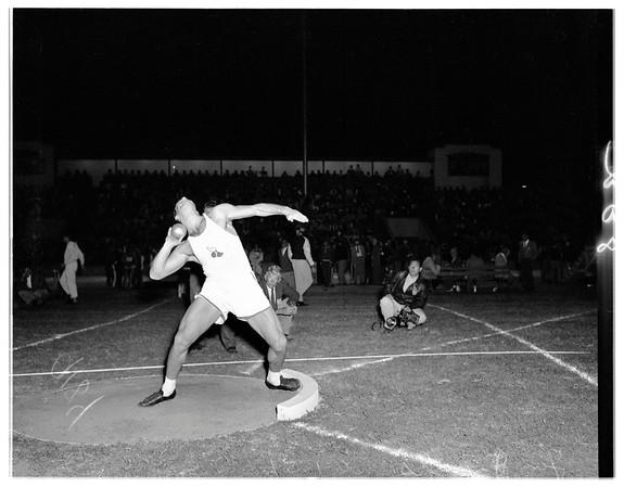 Compton track meet, 1951