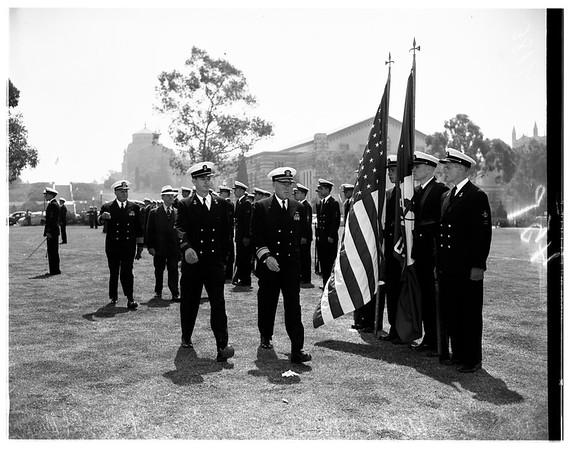 ROTC unit, 1951
