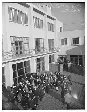 Parent Teacher Association Dedication, 1951