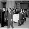 Fanny Brice funeral, 1951