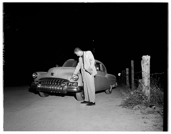 Man hunt in Moorpark, 1951