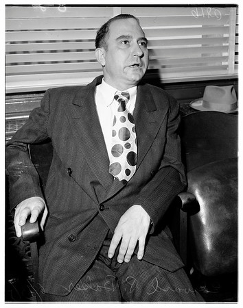 Judge battle preliminary, 1951