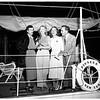"Mrs. Clark Gable aboard yacht ""Pioneer"", 1951"