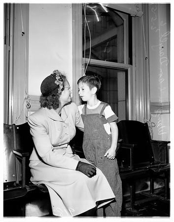 Paternity case, 1951