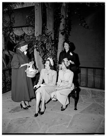 Senior silver spoons, 1951