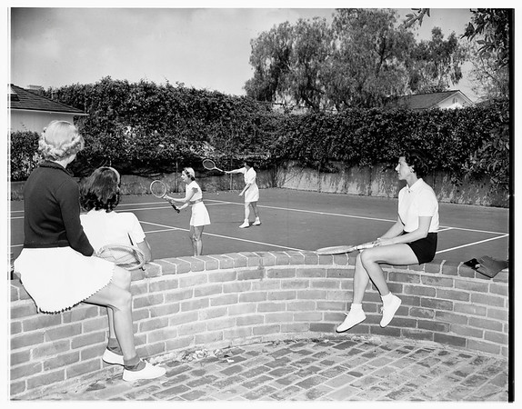 Tennis and Crumpet Club, 1951