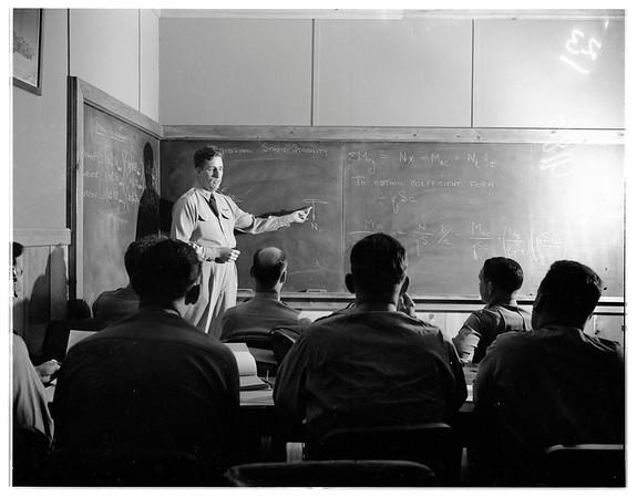 Flight test school, 1951