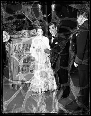 """""""Great Caruso"""" premiere, 1951"""