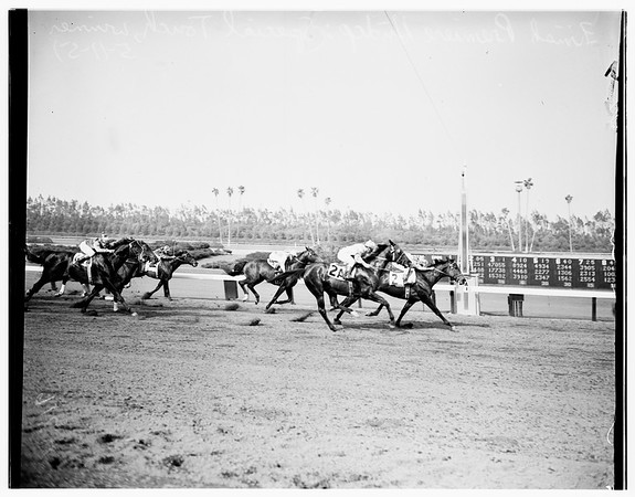 Hollywood Park Races, 1951
