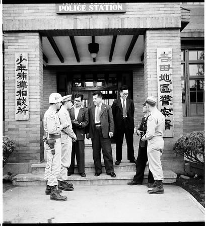 American soldiers in Japan?, 1951