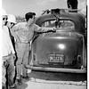 Rocket tests -- Mojave Desert, 1951