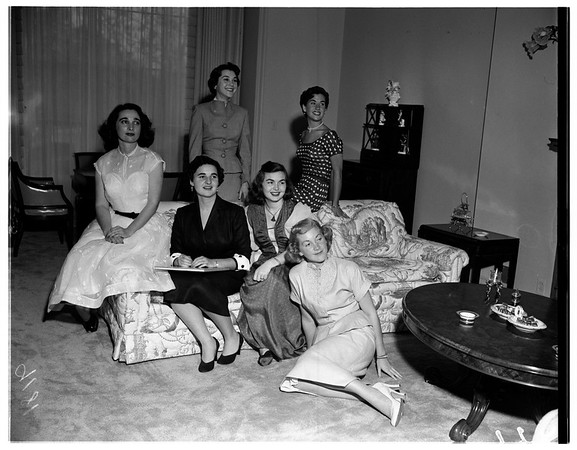 Jewish home for the aged, 1951