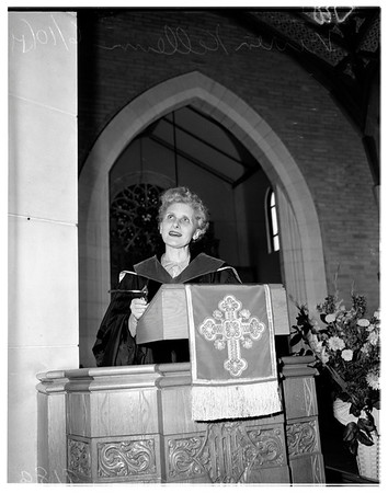 Vivian Kellems -- Westwood Hills Christian Church, 1951