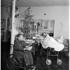 Examiner war wounded fund ...at Long Beach Veterans Administration Hospital, 1951