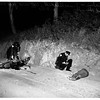 State ranger killed on motorcycle (Will Rogers State Park), 1951