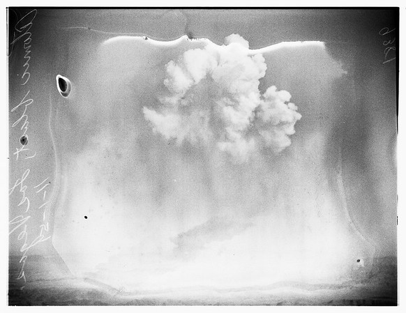 Atomic Blast in Nevada, 1951