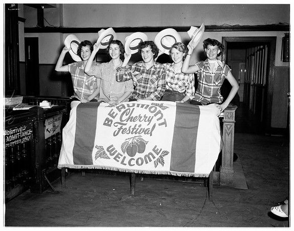 Beaumont Cherry Festival, 1951