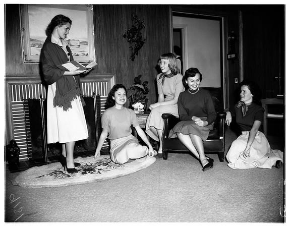 Senior High Ticktockers, 1951