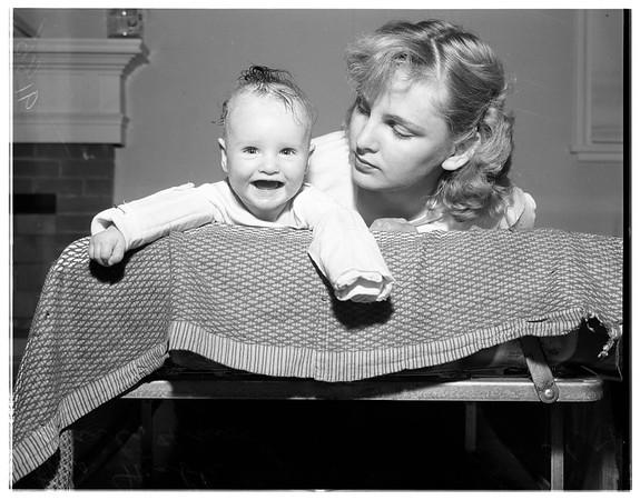 Baby needs blood, 1951