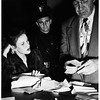 Arrest traffic violator -- Los Angeles Police Department, 1952
