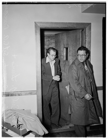 Lover kills woman's husband, 1952