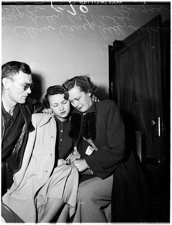 Baby-sitter case (Murder), 1952