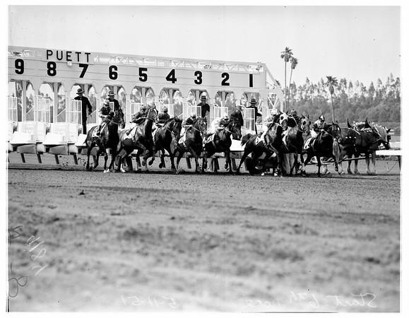 Hollywood Park Races, 1951