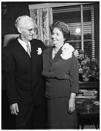Jones marries Jones, 1951