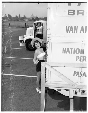 "Truck ""Rodeo"" to be held in Pasadena Sunday, July 15th, 1951"