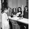 Christening, 1951