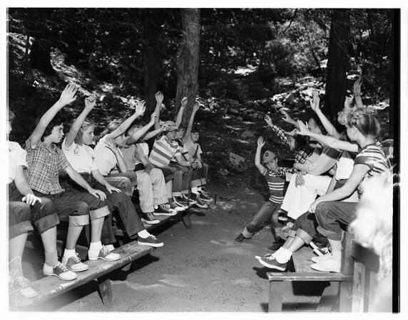 Camp Hi -- Hill at Mount Wilson, 1951