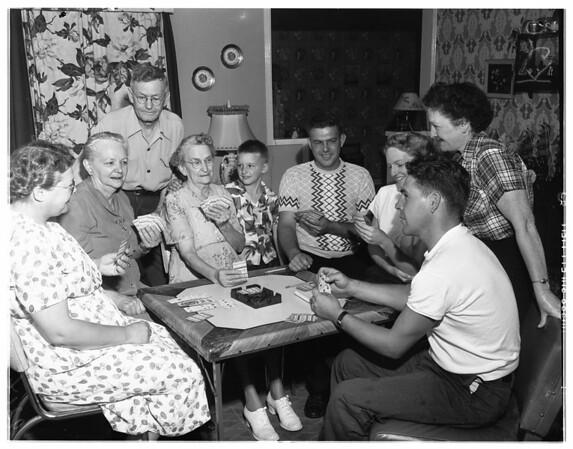 Five generations reunion -- Chino, 1951