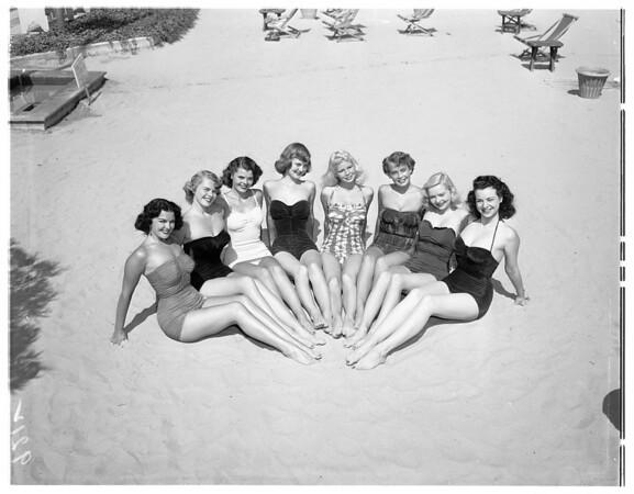 Challange Florida poster girls, 1951