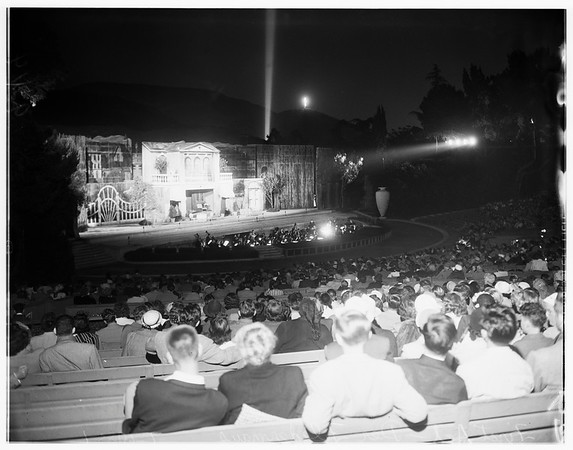 Hollywood Bowl (Der Fliedermouse), 1951