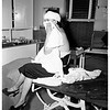 Woman suffers head injury, 1951