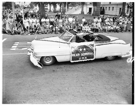 Orange County Parade... Huntington Beach, 1951