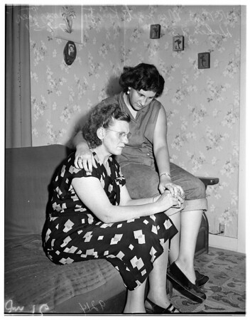 Stepdaughter kidnapped in Downey, 1951