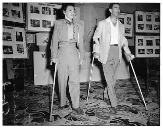 Rehab meeting, 1951