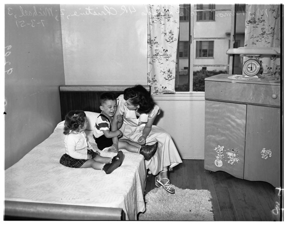 Housing projects (Rose Hills Courts), 1951