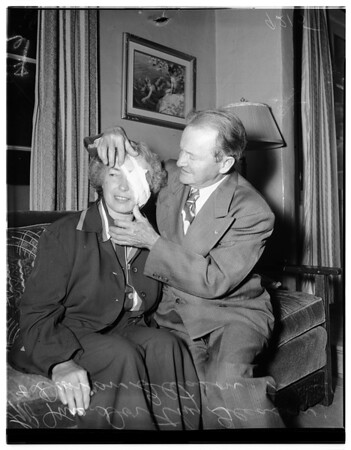 Hold up victim (2411 North Edgement), 1951