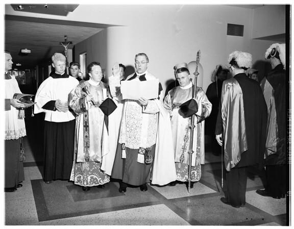 St. Johns Hospital wing, 1951