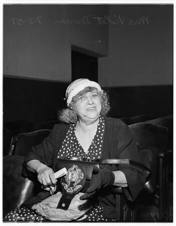 Cat woman, 1951
