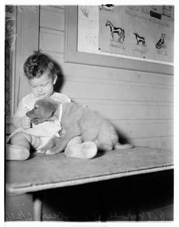 Pet Parade at Mayberry Street Playground, 2408 Mayberry Street, 1951