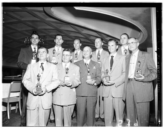 Sales Executive Club (Sammy Awards for best salesman), 1951