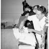 Injured fireman, 1951