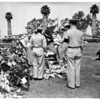 Soldier funeral (killed in Korea) James H. Clark, 1951