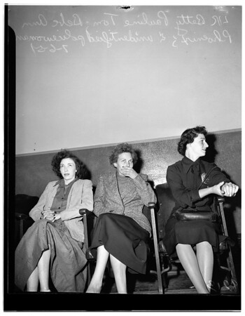 Dope sentence, 1951