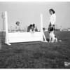 Lynwood dog obedience class, 1951