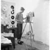Art scholarship winner, 1951