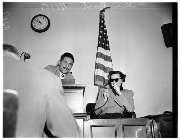 Sloat inquest, 1951